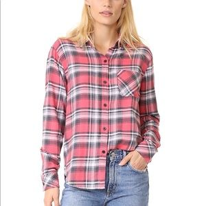 Rails flannel shirt L